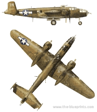 North American B-25J-1 Mitchell