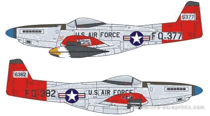 North American F-82H Twin MustangNorth American F-82H Twin Mustang
