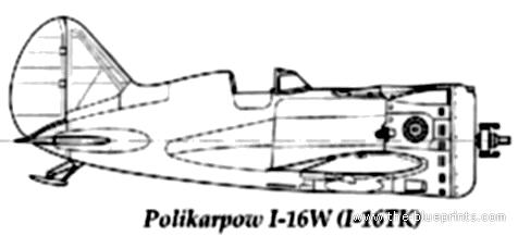 Polikarpov I-16 TK Rata
