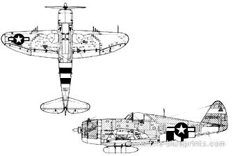 Republic P-47D-20 Thunderbolt