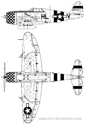 Republic P-47D-22 Thunderbolt
