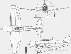 Republic P-47 D Thunderbolt