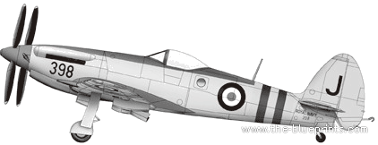 Supermarine Seafang F.MK.32