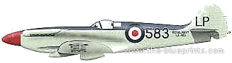 Supermarine Seafire F.45