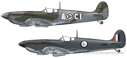 Supermarine Spitfire F Mk.IXE