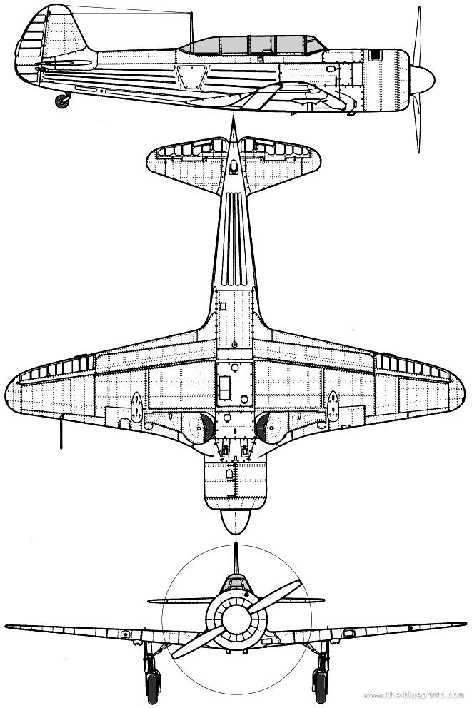 Yakovlev Yak-11 Moose