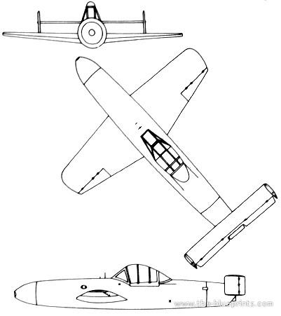 Yokosuka MXY7 Ohka (Baka)
