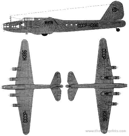 Petlyakov Pe-8