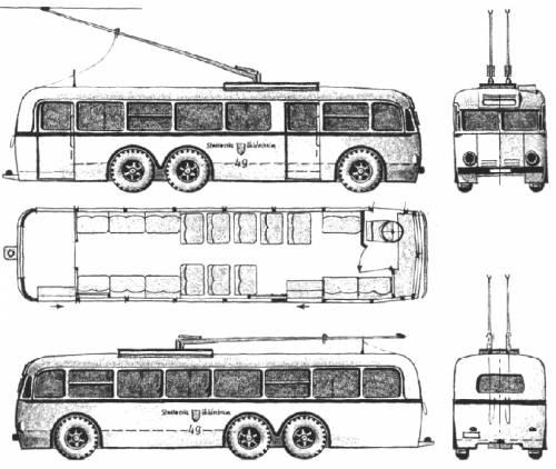 The Blueprints Buses Henschel