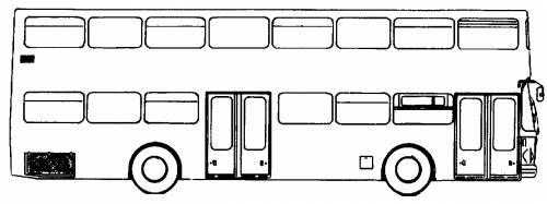 MAN Double Decker Bus