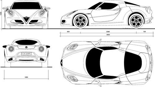 blueprints  u0026gt  cars  u0026gt  alfa romeo  u0026gt  alfa romeo 4c