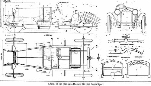 Duesenberg Wiring Diagram besides 49 54 Chevy Passenger Car Chassis Diagram as well 1930 S Touring Car additionally Ignition Switch Wiring Diagram For 1931 Chevy additionally Alfa romeo 6c 1750 super sport chassis  1920. on 1929 dodge original