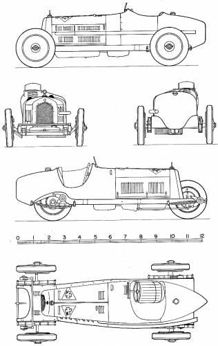 The Blueprints Cars Alfa Romeo Alfa