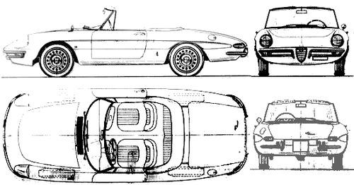 blueprints  u0026gt  cars  u0026gt  alfa romeo  u0026gt  alfa romeo spider duetto