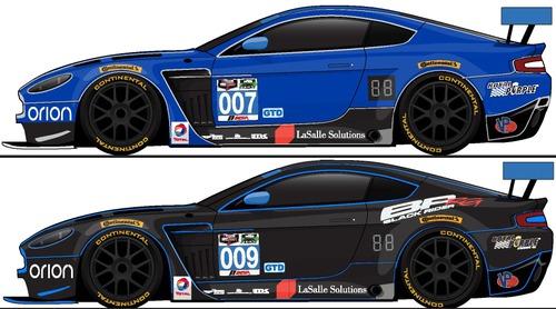 Blueprints Cars Aston Martin Aston Martin Vantage V12 Gt3 Daytona 24 Imsa 2015