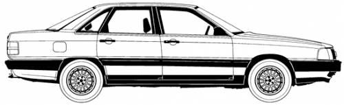1.8 (44) KAT (90 Hp) Audi_100_1986-10113