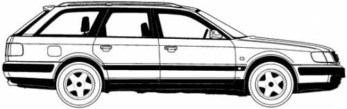 2.2 S4 Turbo quattro (230 Hp) Audi_100_avant_1992-10117