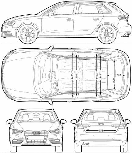 the blueprints cars audi audi a3. Black Bedroom Furniture Sets. Home Design Ideas