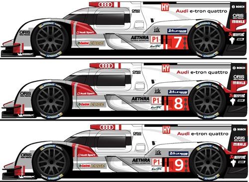 Blueprints Cars Audi Audi R ETron Quattro LM - Audi r18 e tron quattro