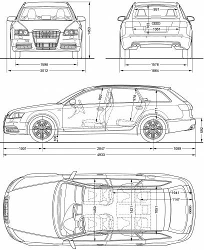 Audi Rs6 Dimensions Fhoto