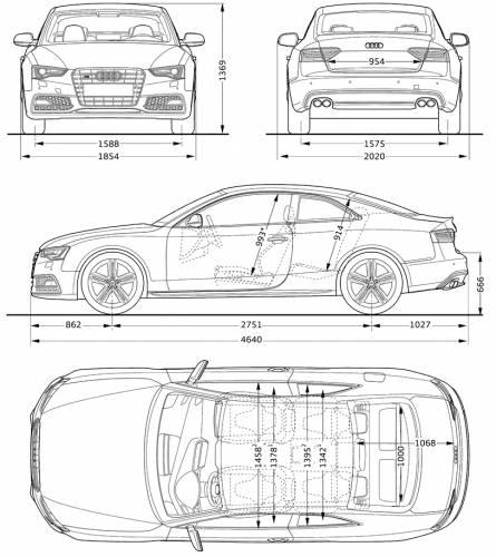 The Blueprints Com Blueprints Gt Cars Gt Audi Gt Audi S5 2012