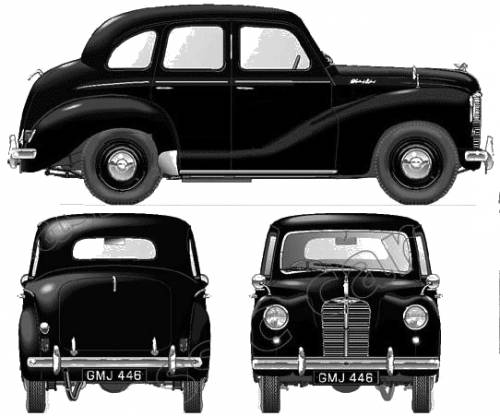 Austin a40 devon 1948 for 1948 austin devon 4 door