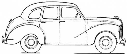 The blueprints cars austin austin for 1948 austin devon 4 door