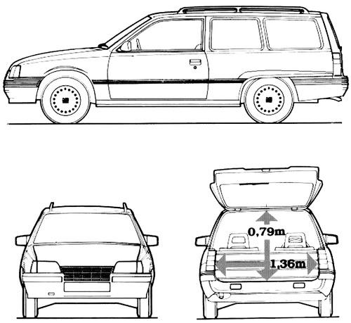 blueprints  u0026gt  cars  u0026gt  bedford  u0026gt  bedford astra van  1987
