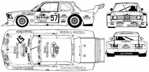 TheBlueprintscom  Blueprints  Cars  BMW  BMW 320 Group 4