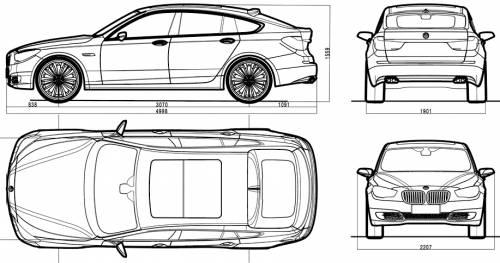 bmw 5 series interior dimensions