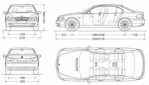blueprints  u0026gt  cars  u0026gt  bmw  u0026gt  bmw 7
