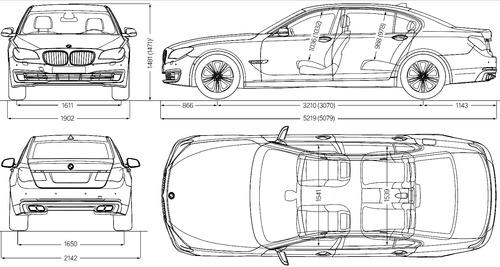 Blueprints > Cars > BMW > BMW 7 Series Sedan Sport Package