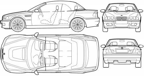 Bmw M3 E46 Convertible. BMW M3 Convertible (E46)