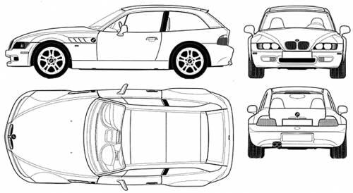 blueprints  u0026gt  cars  u0026gt  bmw  u0026gt  bmw z3 coupe  e37