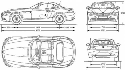 The Blueprints Com Blueprints Gt Cars Gt Bmw Gt Bmw Z4 2 3