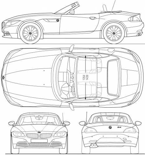Bmw Z4 2009 For Sale: Blueprints > Cars > BMW > BMW Z4 (E89