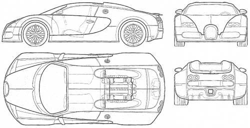 Blueprints cars bugatti bugatti veyron 164 bugatti veyron 164 malvernweather Choice Image