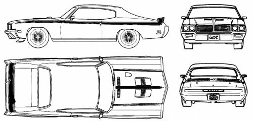 blueprints  u0026gt  cars  u0026gt  buick  u0026gt  buick gsx 455 stage  1970
