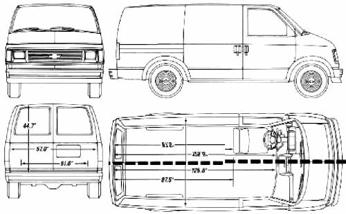 Chevy Express Interior Height Chevy Express Cargo Van Dimensions