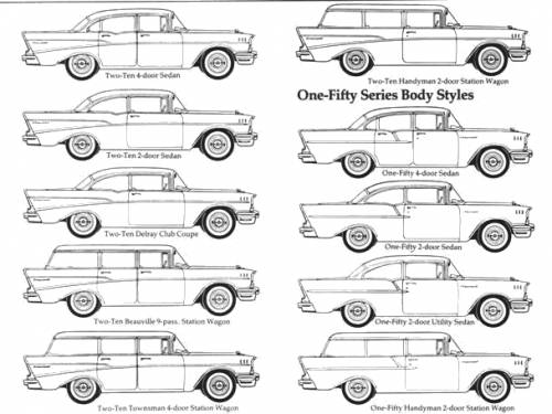 how to draw a 1957 chevy