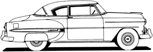 blueprints  u0026gt  cars  u0026gt  chevrolet  u0026gt  chevrolet bel air sport