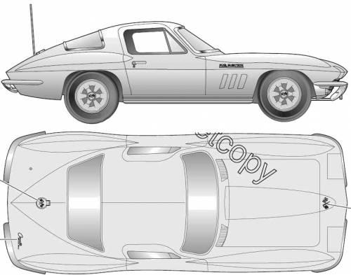 Chevrolet Corvette C2 Stingray Coupe (1965)