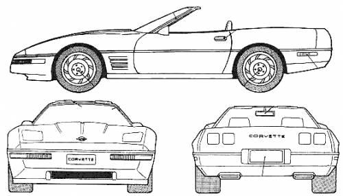 Corvette 320. Chevrolet Corvette Convertible