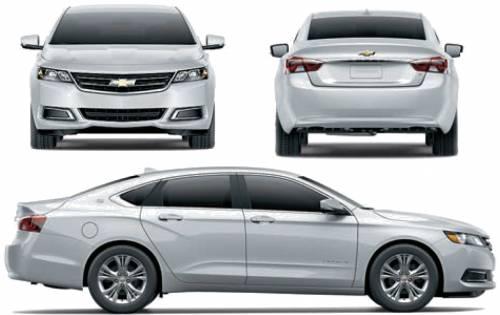 Blueprints cars chevrolet chevrolet impala 2014 chevrolet impala 2014 voltagebd Image collections