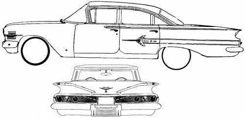 blueprints  u0026gt  cars  u0026gt  chevrolet  u0026gt  chevrolet impala 4