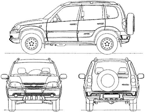 Blueprints cars chevrolet chevrolet ru niva 2016 chevrolet ru niva 2016 malvernweather Gallery