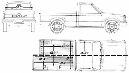 Chevrolet S Short Bed