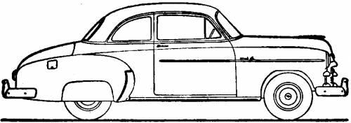 blueprints  u0026gt  cars  u0026gt  chevrolet  u0026gt  chevrolet styleline deluxe sport coupe  1950