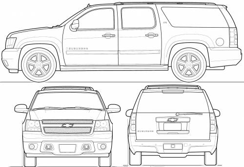 Chevy avalanche coloring pages