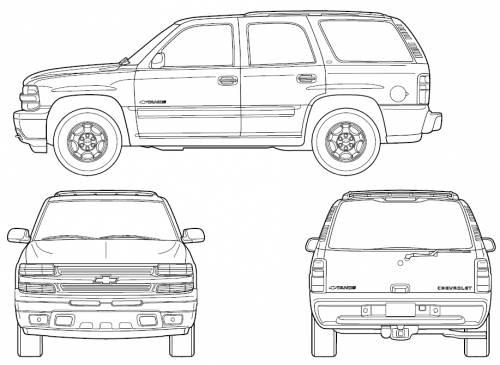 blueprints  u0026gt  cars  u0026gt  chevrolet  u0026gt  chevrolet tahoe  2006